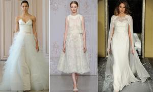 10 váy cưới hai mảnh cá tính và hiện đại