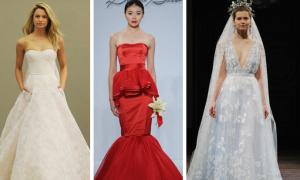 10 màu váy cưới tuyệt đẹp giúp cô dâu nổi bật