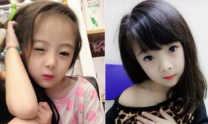 Bé gái 6 tuổi xinh xắn, tạo dáng chụp ảnh như hot girl