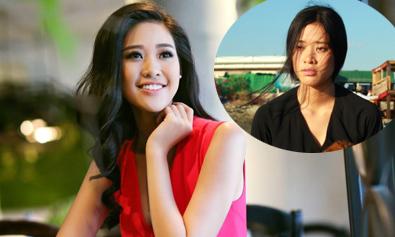 Á khôi Ngôi Sao Khánh Vân không ngại xấu khi đóng phim