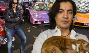 Chi hơn 5.000 USD mua trang sức gắn kim cương cho mèo
