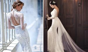 15 váy cưới tuyệt đẹp ôm trọn vóc dáng cô dâu