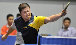 Cựu cây vợt nổi danh Vũ Mạnh Cường tái xuất