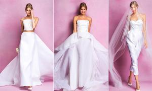 Váy cưới gợi cảm, nữ tính cho cô dâu sành điệu