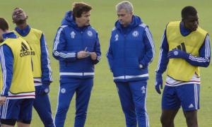 Buổi tập cuối cùng của HLV Mourinho tại Chelsea