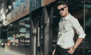 Harry Lu cá tính với trang phục Kin Concept