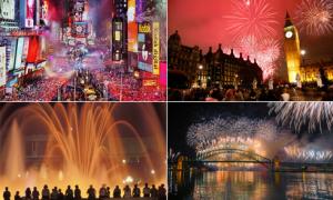 10 điểm đón năm mới 'đỉnh' nhất thế giới