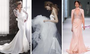 25 mẫu váy cưới tối giản cho cô dâu hiện đại