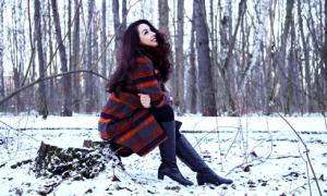 Thúy Hằng chịu lạnh -8 độ C để chụp hình ở Nga