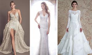 Xu hướng váy cưới tuyệt đẹp năm 2016 (phần 2)