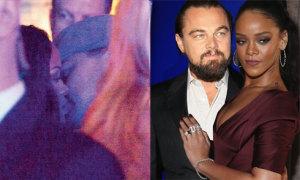 Lộ ảnh Leo DiCaprio và Rihanna hôn nhau