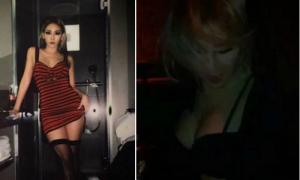 CL nhóm 2NE1 hở ngực táo bạo khi đi bar