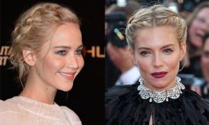 Học sao Hollywood cách tết đẹp cho tóc bob