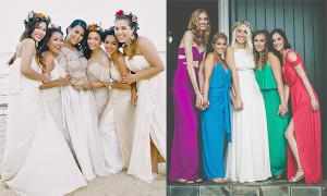 3 lựa chọn phổ biến cho váy phù dâu ngày cưới