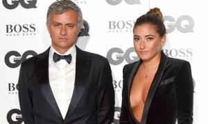 Mourinho 'hoang mang' vì người yêu của con gái