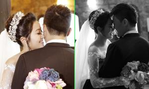 Ảnh cưới ngọt ngào của MC Hồng Phượng
