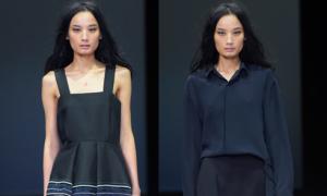 Lê Thúy tự tin sải bước ở Milan Fashion Week