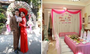 Én vàng Hồng Phượng tổ chức lễ cưới đơn giản
