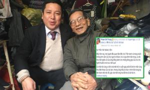 Chí Trung viết thư xin lỗi về 'sự rầy rà' với NSƯT Trần Hạnh