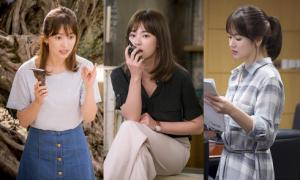 Song Hye Kyo khéo mix đồ hiệu bình dân trong 'Hậu duệ mặt trời'