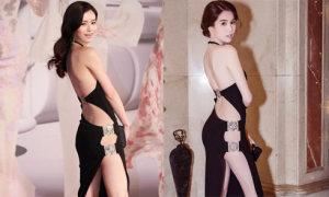 Ngọc Trinh đẹp lấn át mỹ nhân Hong Kong khi 'đụng' váy