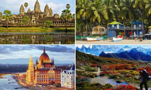 Những quốc gia du lịch hay mà rẻ