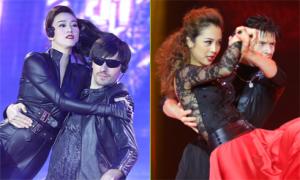 Khánh My, Jennifer Phạm gợi cảm bên vũ công quốc tế