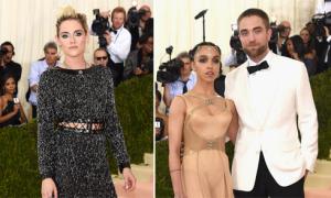 Kristen Stewart chạm trán vợ sắp cưới của Pattinson
