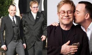 Chuyện tình đồng giới lãng mạn và sắt son của Elton John