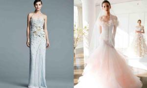 Váy cưới màu sắc cho ngày xuân rực rỡ