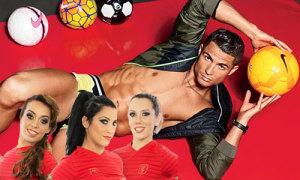Ăn theo Euro, công ty Bồ Đào Nha làm phim sex về CR7