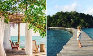 Thiên đường 'đẹp như Maldives' lại ngay gần Sài Gòn