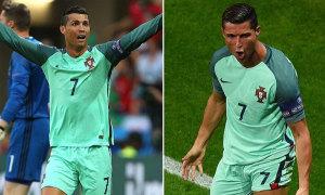 'Tuyệt chiêu' thay áo giúp C. Ronaldo lên đồng
