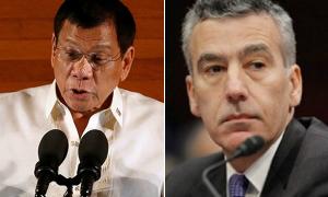 Tổng thống Philippines chửi đại sứ Mỹ là tên khốn