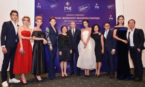 Tóc Tiên và thí sinh Next Top rạng rỡ với trang sức ECZ