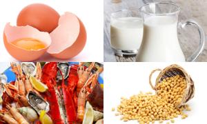 6 loại thực phẩm dễ gây dị ứng nhất cho trẻ