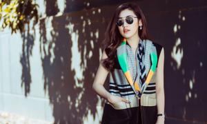 Tú Anh sành điệu với thời trang dạo phố