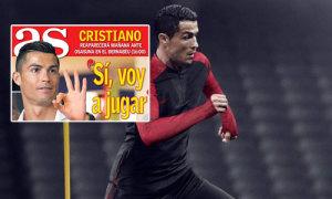 C. Ronaldo tuyên bố tái xuất sau hai tháng