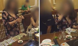 Cô gái uống 13 ly rượu để lấy hơn 5 triệu tiền thách đố
