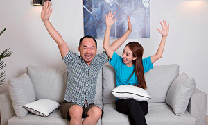 Bí quyết sống hạnh phúc của Thu Trang - Tiến Luật