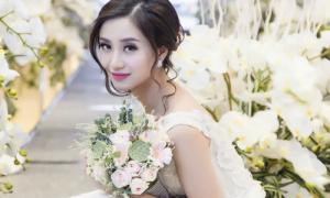 Jun Vũ lộng lẫy trong lần đầu diện váy cưới