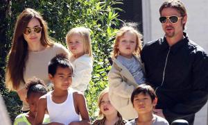 Cách dạy con lạ đời của Brad Pitt và Angelina Jolie