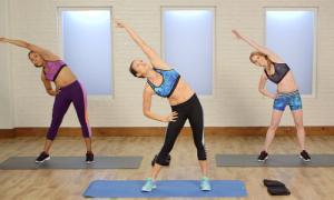 10 phút tập luyện tại nhà cho vòng eo phẳng lỳ