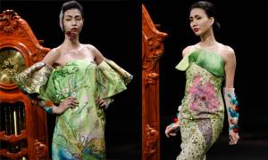 Trang phục Couture xếp nếp cầu kỳ của Hùng Việt