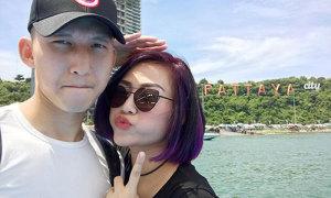 Nghiêm Xuân Tú cùng vợ sang Thái Lan kỷ niệm ngày cưới