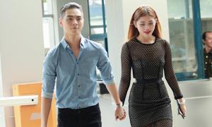 Chúng Huyền Thanh công khai nắm tay bạn trai hot boy