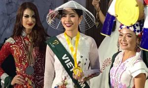 Nam Em đoạt thêm giải Hoa hậu Ảnh tại Miss Earth