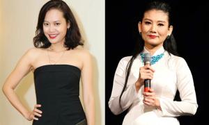 Hồng Ánh trẻ trung đi xem kịch của Mỹ Uyên