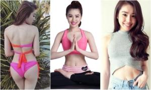 9X Sài Gòn có vòng eo 57 cm nhờ chăm chỉ tập yoga