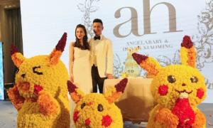 Angelababy mở tiệc tưng bừng mừng sinh nhật Hiểu Minh